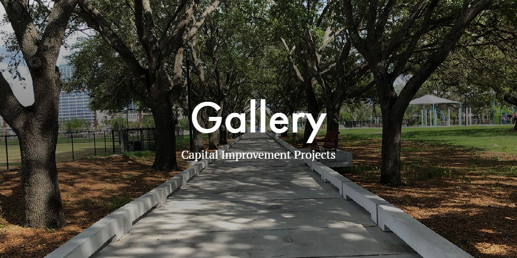 Capital Improvement Projects Gallery