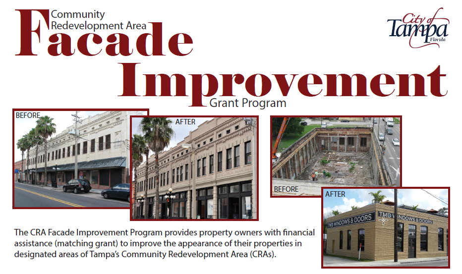 CRA Facade Improvement Header