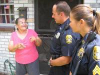 Officers Interacting With A Citizen