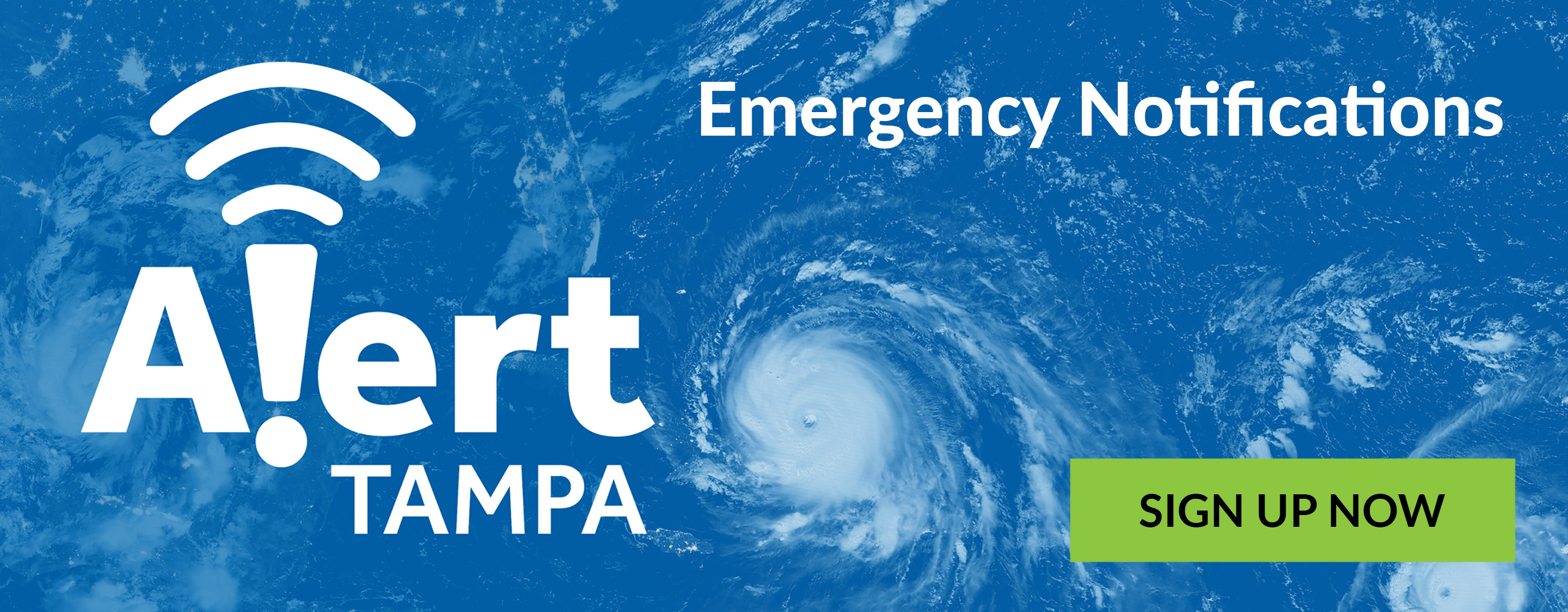 Alert Tampa - Emergency Notifications - Sign up Now