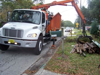 Special Services - Picking up large yard debris