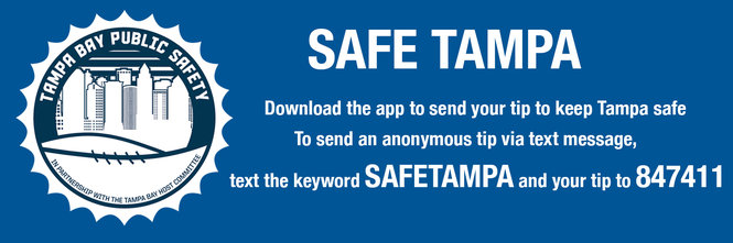 Safe Tampa App Graphic