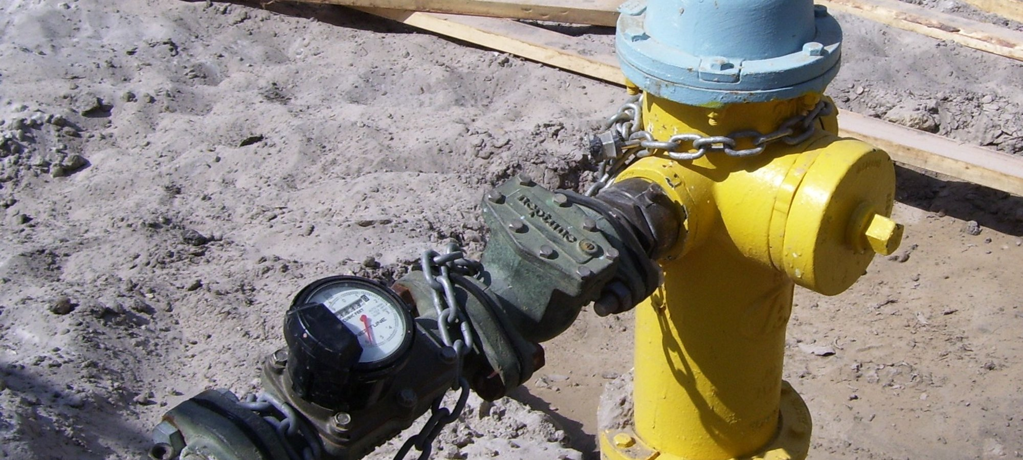 Portable Hydrant Meter
