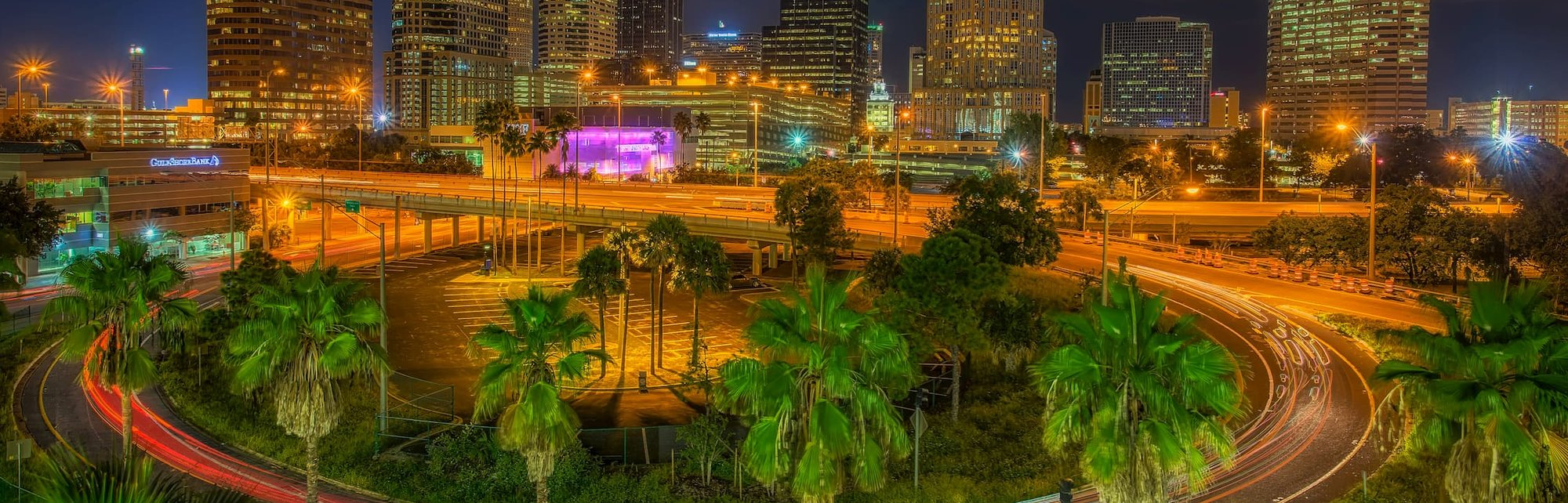 Around Tampa Night Merged