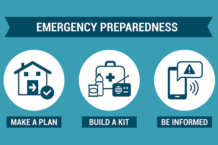 emergency preparedness graphic