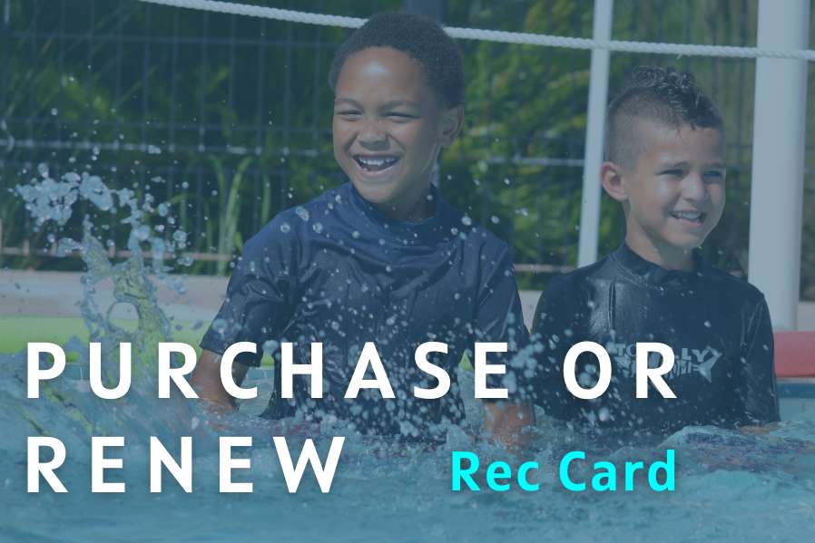 Purchase or Renew Your Rec Card