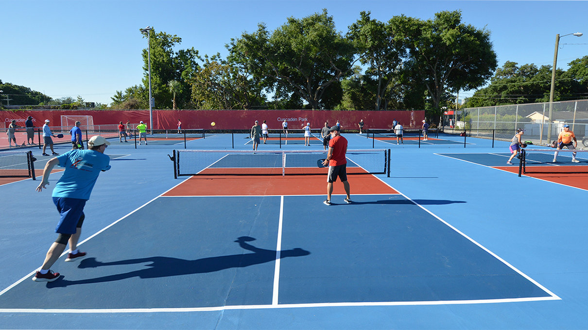 Pickleball at Cuscaden Park