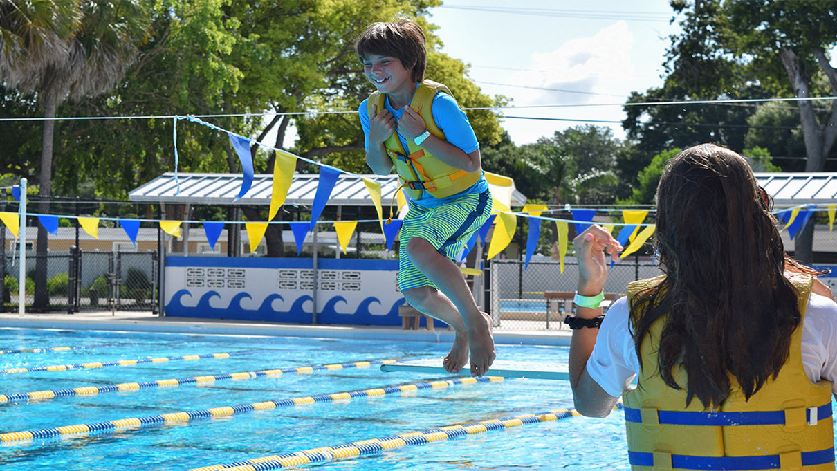 Camp H2O at Bobby Hicks Pool