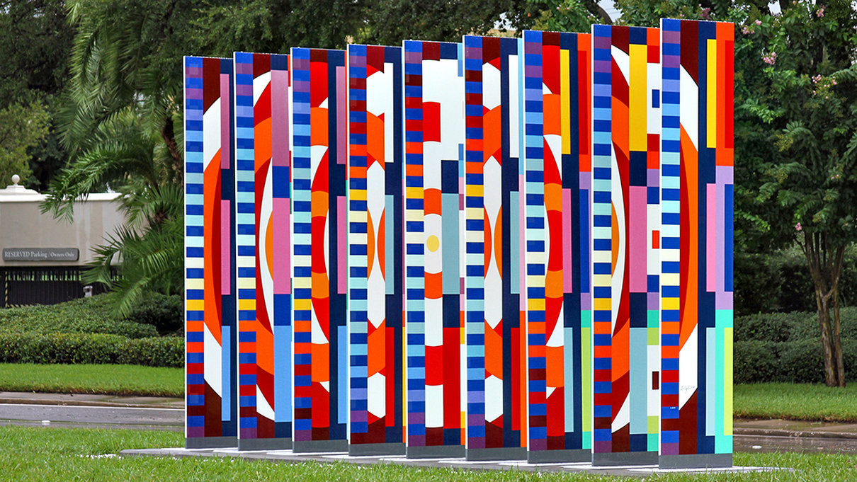 Visual Welcome by Yaacov Agam