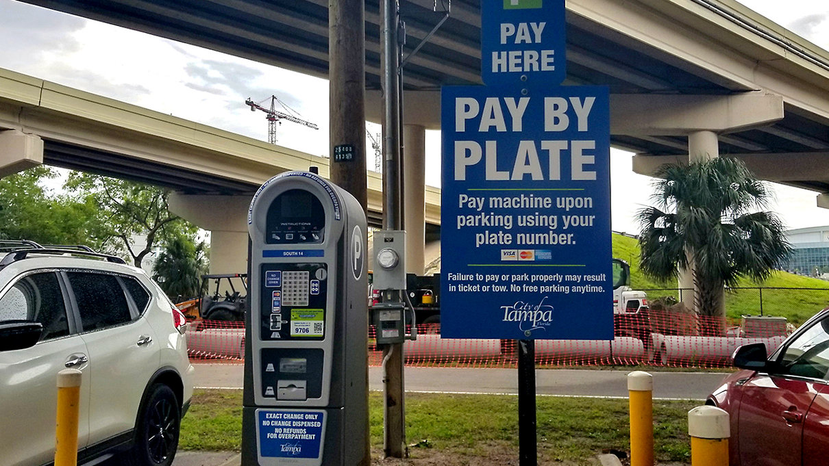 Selmon Expressway South Parking Lot Pay Station