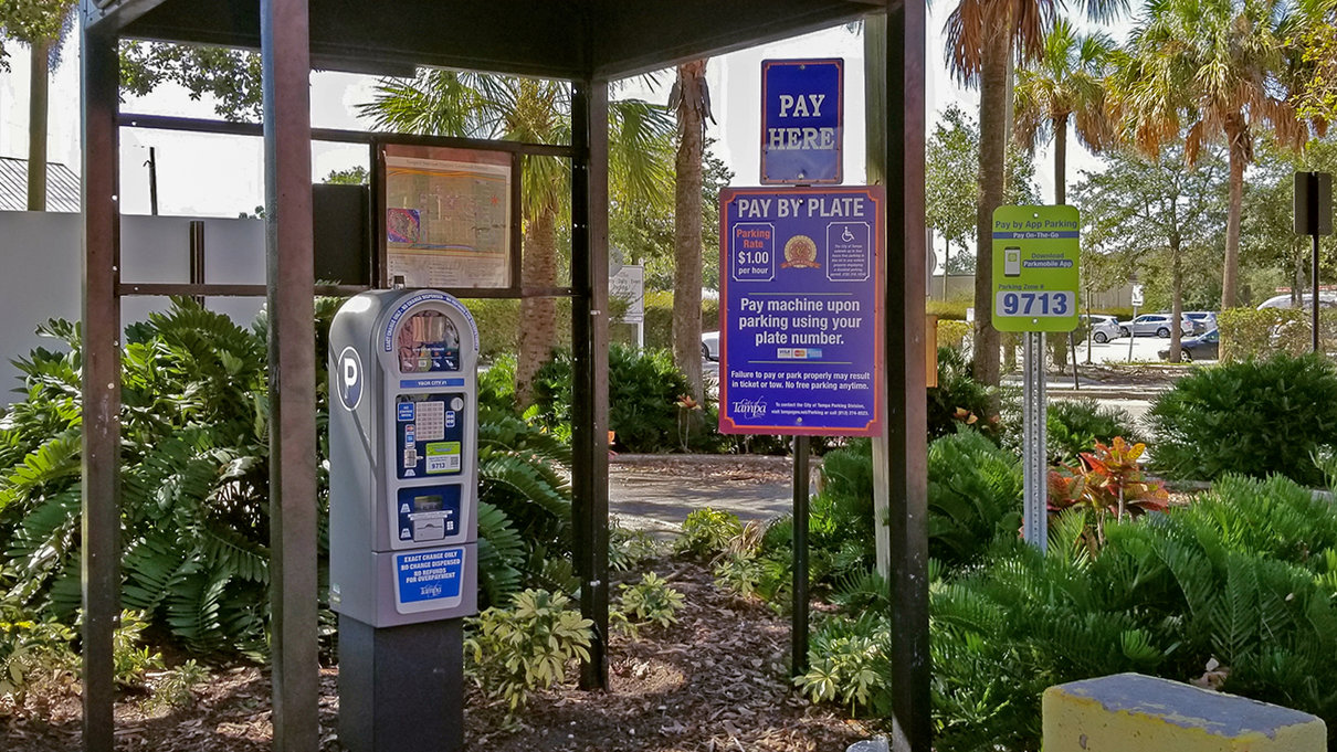 Ybor #3 Parking Lot pay station